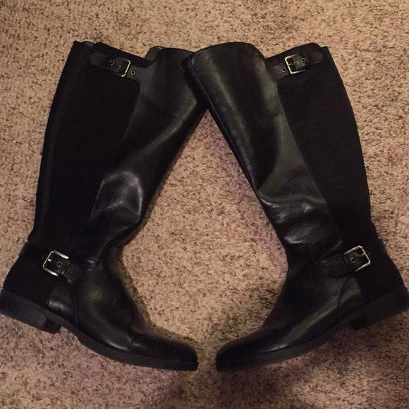 7b51416fc4b2 Liz Claiborne Shoes - Liz Claiborne Dallas wide calf riding boots 11w